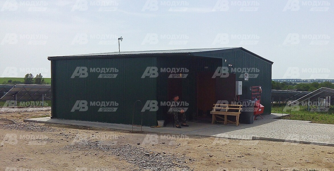 AV-modul. Modular office at the station. Фото 2